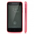 "Lenovo A516 Dual-Core Android 4.2 WCDMA Bar Phone w/ 4.5"" / Wi-Fi / Camera - Deep Pink + Black"