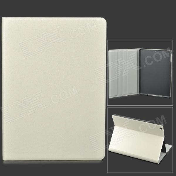 Protective Flip Open PU + Plastic Case for Ipad AIR - White