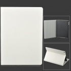 Oracle Pattern Protective Flip Open PU + Plastic Case for Ipad AIR - White
