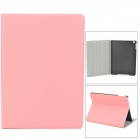 Orcal Pattern Protective Flip Open PU + Plastic Case w/ Stand for Ipad AIR - Pink
