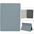 Oracle Pattern Protective Flip Open PU + TPU Case w/ Stand / Card Slots for Ipad AIR - Grey