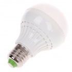 ZMW-1012 E27 7W 6000K 572lm 26-SMD 2835 White Light Bulb - White (220V)