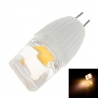 ZY-GG902 G4 1.5W 90-100 LM 3000K Warm White Light COB LED Lamp Bulb - White (230V)