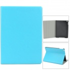 Protective Flip Open PU + Plastic Case for Ipad AIR - Sky Blue