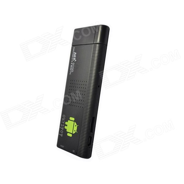 Ourspop M9B Quad-Core Android 4.2.2 Google TV Player w/ 2GB RAM / 8GB ROM / Bluetooth / EU - Black