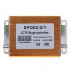SPD02-2/1 2-In-1 CCTV Surge Protector - Golden
