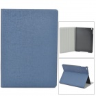Oracle Style Protective PU Leather + Plastic Case for Ipad AIR - Jewelry Blue