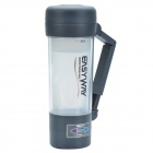 EASYWAY FCC-260 Heated Travel Mug w/ Car Charger - Silver Grey