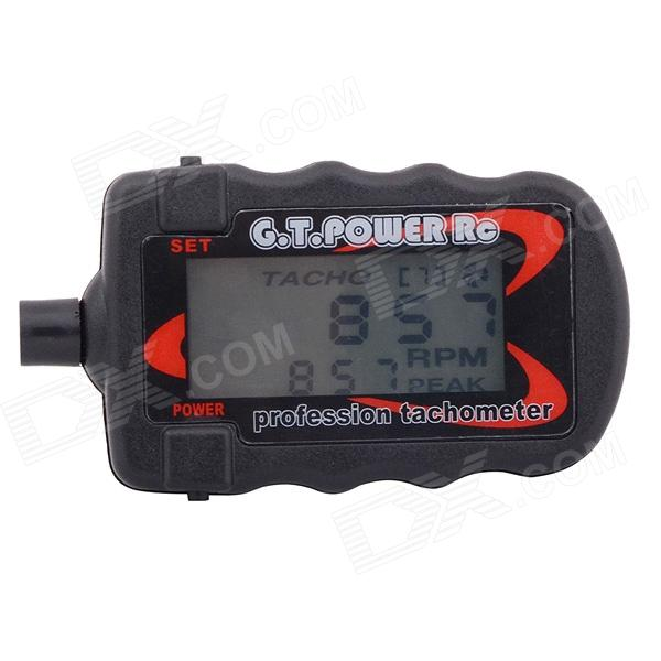 G.t.power RC tacômetro digital LCD para 2-9 lâminas r / c aeronaves