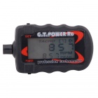 G.T.POWER RC Micro Digital Tachometer LCD for 2-9 Blade R/C Aircraft