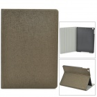 Oracle Pattern Protective Flip Open PU + Plastic Case for Ipad AIR - Brown