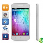 "Simple S138+ Android 4.2 WCDMA Dual-Core Bar Phone w/ 5.2"" Screen, GPS and Wi-Fi - White"