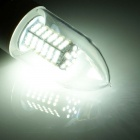 E27 5.8W 250lm 120 x SMD 3528 LED Cold White Light Bulb (AC 220~240V)