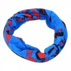 LXHL-909 Outdoor Sports Multifunction Polyester Seamless Head Scarf - Blue (Free Size)
