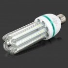 HZLED E27 16W 1440lm 3200K 96 x SMD 2835 LED Warm Light Lamp - White + Silver (AC 85~265V)