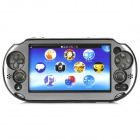 Protective Aluminum + Plastic Case for PS Vita 2000 - Silver + Black