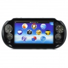 Protective Aluminum + Plastic Case for PS Vita 2000 - Black