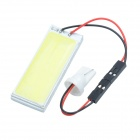 Cheerlink 3W 300LM 12V 24-LED White Light Roof Light - Yellow