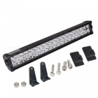 200W 40-LED White Work Light Bar Combo Screws Offroad SUV ATV Lamp