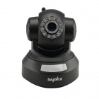 SANNCE IP-7633JV 0.3 MP CMOS 720P IP Security Camera P/T Wi-Fi Smart Scan QR Code P2Pw/ 10-IR LED