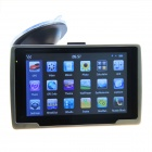 "ST-E600 5.0"" Resistive Screen WinCE 6.0 Car GPS Navigator w/ FM / 4GB USA + Canada Map - Black"