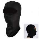 SAHOO 46865 Outdoor Sports Universal Warm Fleece Helmet Mask Cap - Black (Size XL)