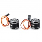DIY FPV Camera Brushless Gimbal Stabilized Mount para DJI MultiCopter GoPro3 - Preto Cinza + Prata