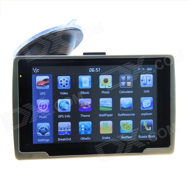 ST-E600-2 5.0 Resistive Screen Win CE 6.0 Car GPS Navigator w/ FM / 4GB-Europe Map - Black cervical cancer in amhara region in ethiopia