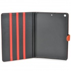 Stylish Protective PU Leather + caja de plástico para Ipad AIR - Orange