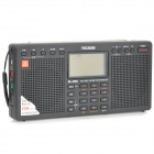 "TECSUN PL-390 2.3"" LCD Full Band Digital FM / MW / SW / LW Stereo Radio - Black (3 x AA)"