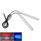 Waterproof 5W 200lm Blue Car Daytime Running Light - (12V / 17cm / 2 PCS)
