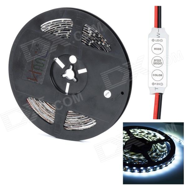HML Black FPC 36W 2000lm 6500K 300 x SMD 3528 LED White Light Strip w/ Mini Controller потребительские товары oem epacket ] usb 2 0 firewire ieee 1394 6pin hada005