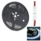 HML Black FPC 36W 2000lm 6500K 300 x SMD 3528 LED White Light Strip w/ Mini Controller