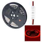 HML Black FPC 36W 650nm 300 x SMD 3528 LED Red Light Strip w/ Mini Controller