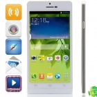 "Haipai P6s MTK6582 Quad-Core Android 4.2.2 WCDMA Bar Phone w/ 5.0"" HD, 8GB ROM, Wi-Fi, GPS - White"