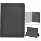 Oracle Style Protective PU Leather + Plastic Case for Ipad AIR - Black