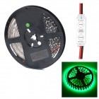 HML Black FPC 36W 530nm 300 x SMD 3528 LED Green Light Strip w/ Mini Controller