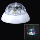 012-1352 USB 5W Colored Diamond Rotating Projection Lamp - Black (3 x AA / 100cm)