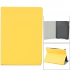 Stylish Protective PU Leather + Plastic Case for Ipad AIR - Yellow