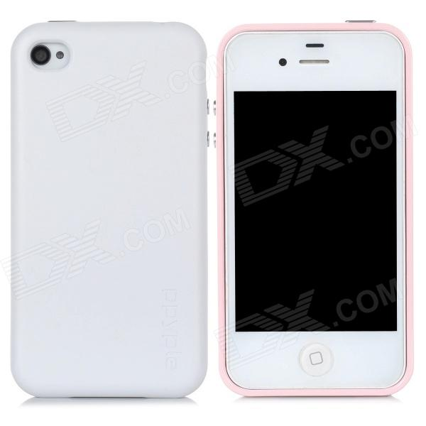 ppyple AC2 Case w/ Signal Enhancement / Power Saving / IC Card Holder for Iphone 4 / 4s - Pink