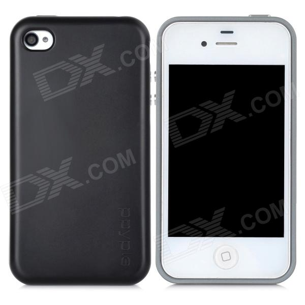 ppyple AC2 Case w/ Signal Enhancement / Power Saving / IC Card Holder for Iphone 4 / 4s - Grey