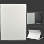 Stylish Protective PU Leather + Plastic Case for iPad Air - White