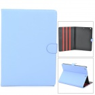 Stylish Protective PU Leather + Plastic Case for Ipad AIR - Light Blue