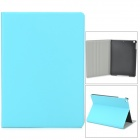 Protective PU Leather + Plastic Case for Ipad AIR - Sky Blue