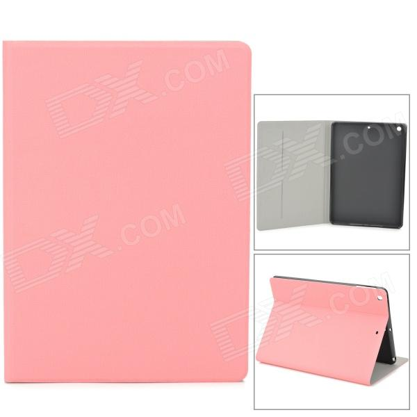 Oracle Style Protective PU Leather + TPU Case for Ipad AIR - Pink oracle pattern protective flip open pu tpu case w stand for ipad air deep blue