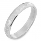 SHIYING jz041 Men's Totem Style 316L Stainless Steel Ring - Silver