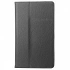 Styish Flip-open PU Leather Case w/ Holder for Google Nexus 7 II - Black