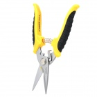 "R'DEER RT-2270 7"" Stainless Steel Cutter Pliers - Yellow + Black + Silver"