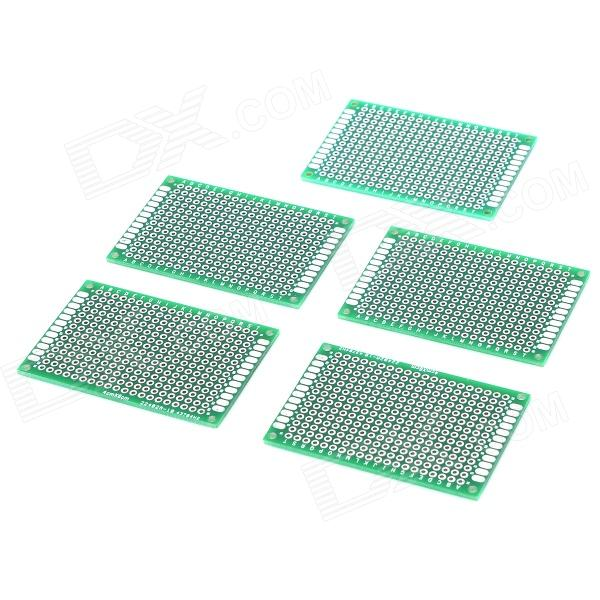 YS03-006 Double Side Zinn-Beschichtung, 2,54 DIY Prototyp PCB Printed Circuit Board (5 PCS)