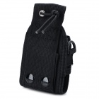 Weili 20A Convenient Universal Linen Case Pouch for Walkie Talkie - Black